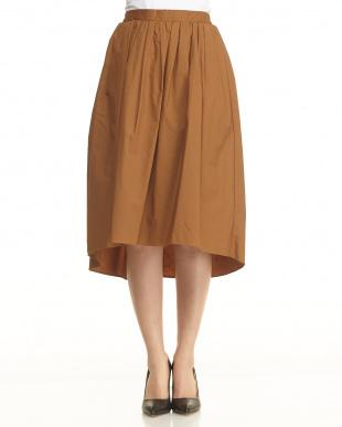 カーキ  OU/フィッシュテイルギャザースカート見る