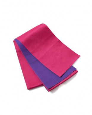 ピンク×パープル系 配色 平帯+着付け小物セット税抜1,640円福袋 WOMEN見る