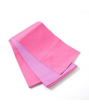 ピンク×ラベンダー系 配色 平帯+着付け小物セット税抜1,640円福袋 WOMEN見る