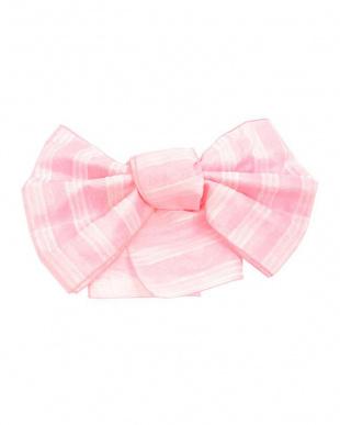 ピンク系 モチーフMIX髪飾り+プチ兵児帯税抜990円福袋 WOMEN見る