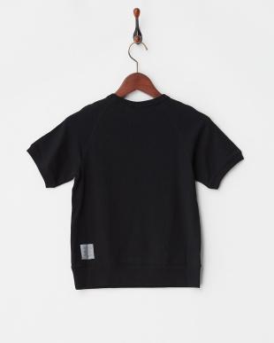 ブラック  インレイTシャツ見る