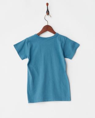 ブルー  JAPAN Tシャツ見る