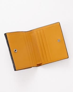 ブラック  クロコダイル コンパクト財布見る