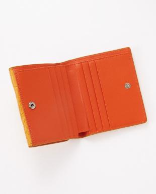 サンオレンジ  クロコダイル コンパクト財布見る