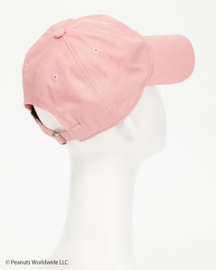 ピンク チャーリーフレンドフェイスツイルベースボールキャップ(CHARLIE'S FRIEND FACE BB CAP)見る