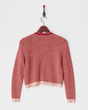 red pattern DOGNUNO Knitted Jacket見る