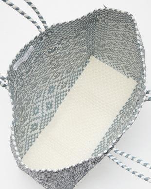 SILVER  メキシコ手編みメルカドBAG見る