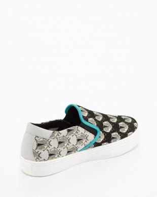black pattern ADOTTATO Shoes見る
