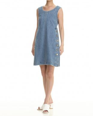 midnight blue DECADE Dress見る