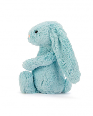 ブルー Bashful Aqua Bunny Medium見る