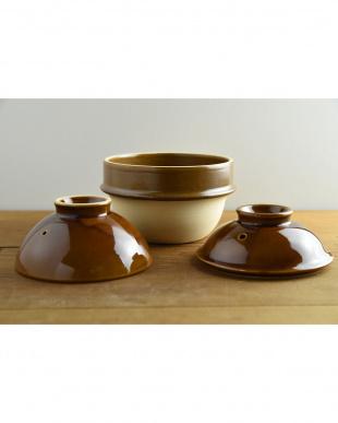 飴  kamacco 1合炊き用土鍋(土釜)見る