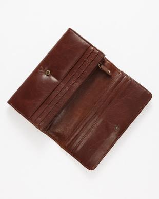 ブラウン 長財布見る