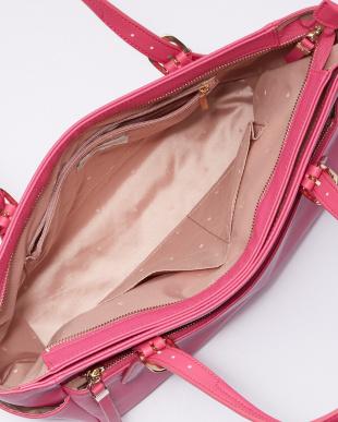 ピンク サフランA4 トートバッグ見る