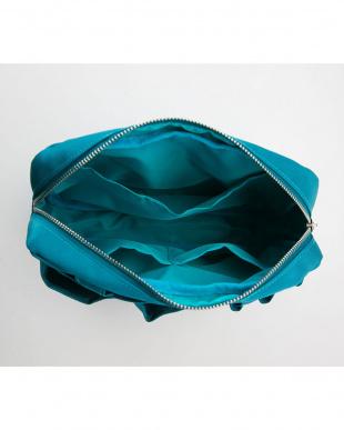 ブルー  手提げバッグにもなるインナーバッグ見る
