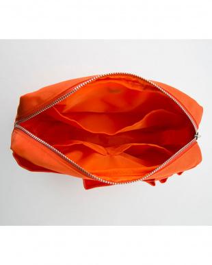 オレンジ  手提げバッグにもなるインナーバッグ見る