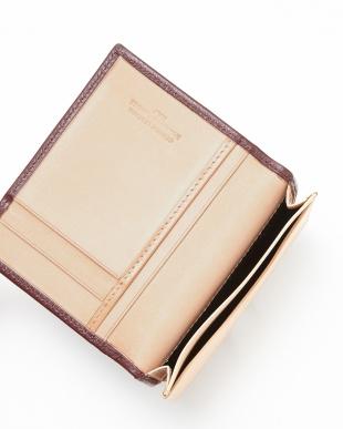 BORDEAUX/NATURAL  カードケース横型見る