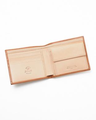 LIGHT BROWN/NATURAL  二つ折り財布見る