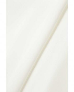 ホワイト ライトサテンブラウス BOSCH見る