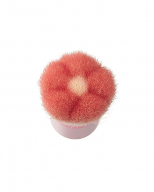 レッド×ピンク  洗顔ブラシ見る