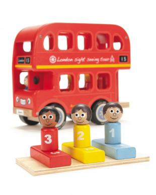 木製トイ ロンドンバス見る