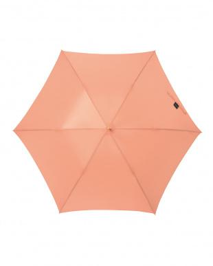 オランジュ 軽量スリムジャンプ傘(無地)見る