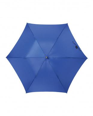 ロイヤルブルー 軽量スリムジャンプ傘(無地)見る