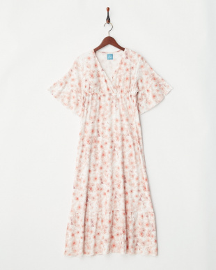 PIP  COTTON SMOOTH LONG DRESS見る