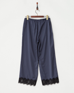NVL  SATIN LACE LONG PANTS見る