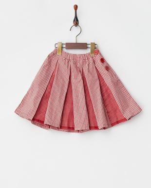 RR ボックスプリーツ切替スカート見る