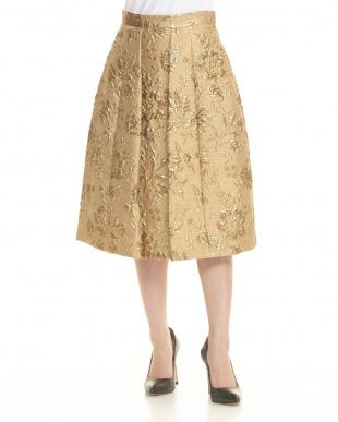 ゴールド  スカート見る