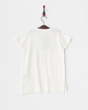ホワイト 18/-テンジク POPSTAR ロングTシャツ見る