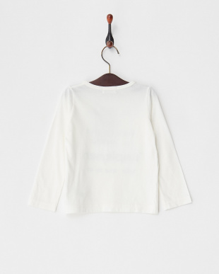 ホワイト 30/-コットンテンジク Simplement L/STシャツ見る