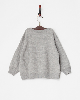 グレー ツブツブJQ L/S BIGセーター見る