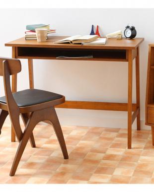 ブラウン  hommage Desk見る