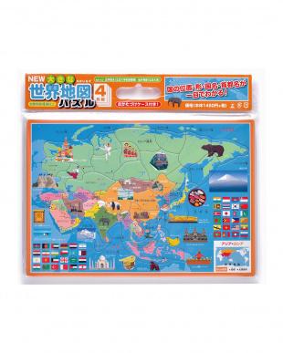 NEW 大きな世界地図パズル見る