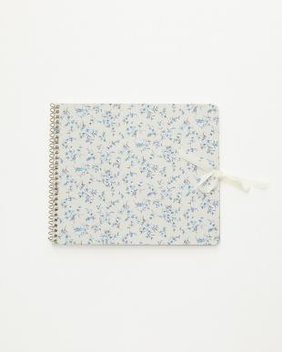 アイボリー/ピンク  スクラップノート 2点セット・キュート/Flower textile|WOMEN見る