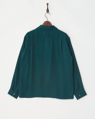 D.Green オープンカラーL/Sシャツ見る