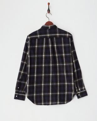 BLACK チェックフランネルシャツ見る