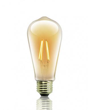 フィラメントLED電球 E26 電球色見る