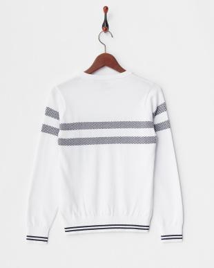 ホワイト WOMEN'S Vネックセーター見る