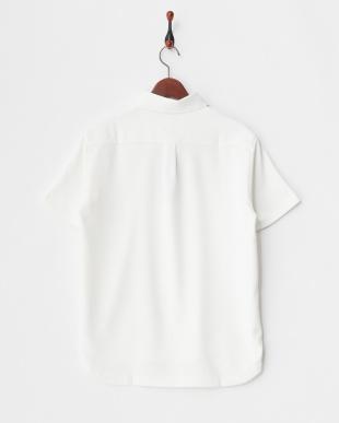 ホワイト MEN'S セミワイドカラーシャツ見る