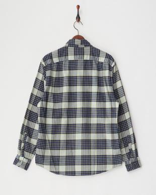 TROPICBLUE Yarn Dyed Fabric WOVEN SHIRT見る