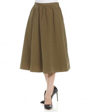 ネイビー 製品染めスカート見る