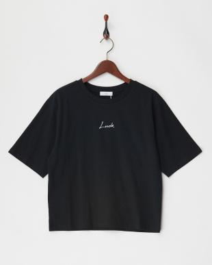 ブラック ちびロゴTシャツ見る