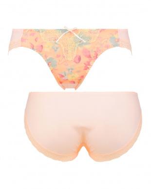 ピンク TRS019 Hikini エントリーコレクション 段差ができにくいブラ レギュラーショーツ019見る
