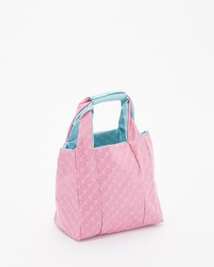 ブルー/ピンク ハンドバッグ見る