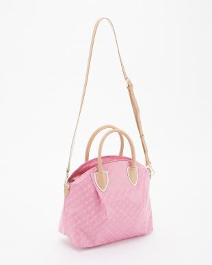 ピンク 2WAYバッグ見る