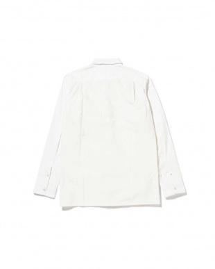 ホワイト1 ニット切り替えシャツ R/B COUPLES(オリジナル)見る