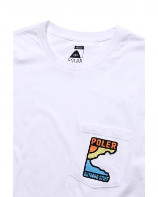 WHITE デザインロゴTシャツ R/B COUPLES(バイイング)見る