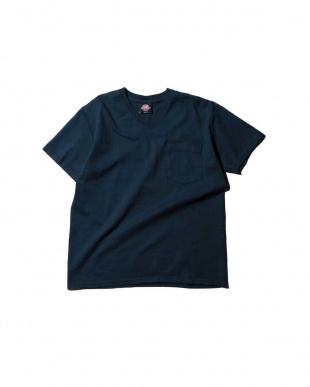 WHITE Vネック半袖Tシャツ R/B COUPLES(バイイング)見る